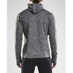 Craft Eaze Jersey Hood Jacket Men Black Melange